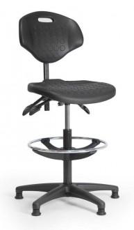 Chaise atelier polyuréthane avec repose-pied - Devis sur Techni-Contact.com - 1