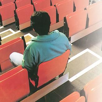 Chaise auditorium pliable - Devis sur Techni-Contact.com - 2