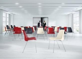 Chaise avec coque plastique - Devis sur Techni-Contact.com - 1