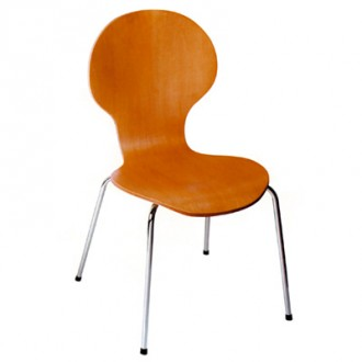 Chaise bois contreplaqué pour caféteria - Devis sur Techni-Contact.com - 1