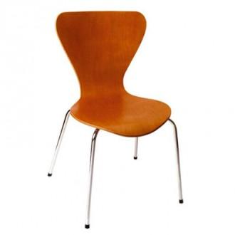 Chaise caféteria en bois contreplaqué - Devis sur Techni-Contact.com - 1