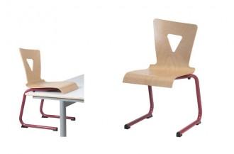 Chaise cantine appui sur table - Devis sur Techni-Contact.com - 1