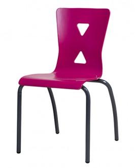 Chaise cantine coque bois - Devis sur Techni-Contact.com - 1