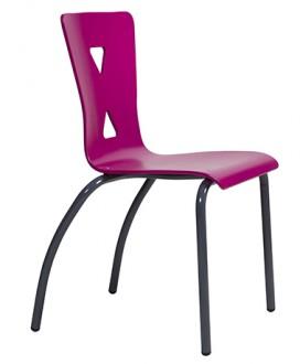 Chaise cantine coque bois - Devis sur Techni-Contact.com - 2