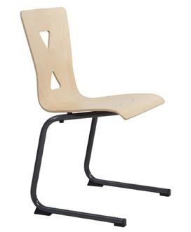 Chaise cantine coque en hêtre multiplis - Devis sur Techni-Contact.com - 2