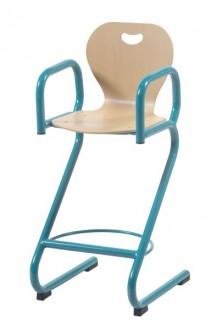 Chaise cantine haute - Devis sur Techni-Contact.com - 1