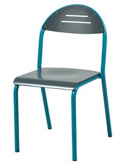 Chaise cantine maternelle 4 pieds - Devis sur Techni-Contact.com - 1