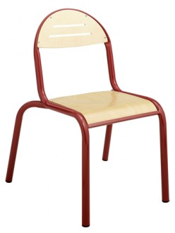 Chaise cantine monobloc - Devis sur Techni-Contact.com - 2