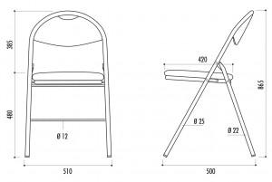 Chaise collectivité pliante et assemblable - Devis sur Techni-Contact.com - 2