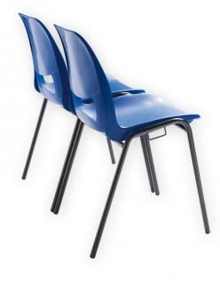 Chaise coque plastique empilable et accrochable - Devis sur Techni-Contact.com - 2