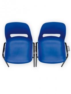 Chaise coque plastique empilable et accrochable - Devis sur Techni-Contact.com - 3