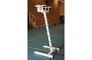Chaise d'arbitre de tennis socle en H - Devis sur Techni-Contact.com - 1