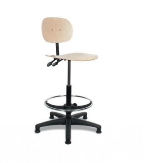 Chaise d'atelier asynchrone en bois - Devis sur Techni-Contact.com - 3