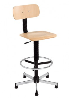 Chaise d'atelier haute - Devis sur Techni-Contact.com - 1