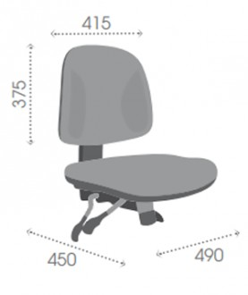 Chaise d'atelier polyuréthane perforé - Devis sur Techni-Contact.com - 4