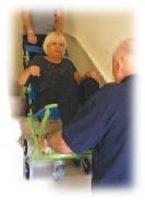 Chaise d'évacuation 3 roues - Devis sur Techni-Contact.com - 3