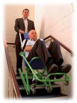 Chaise d'évacuation 4 roues - Devis sur Techni-Contact.com - 3