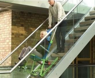 Chaise d'évacuation escalier - Devis sur Techni-Contact.com - 1