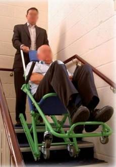 Chaise d'évacuation pour PMR - Devis sur Techni-Contact.com - 2