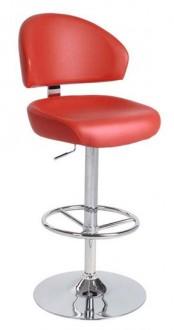Chaise de bar confortable en similicuir - Devis sur Techni-Contact.com - 1