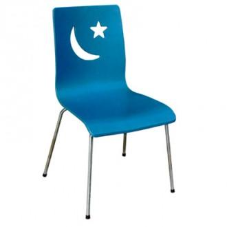 Chaise de cafétéria en bois - Devis sur Techni-Contact.com - 1
