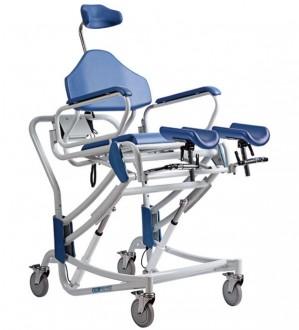 Chaise de douche avec bassin et repose-pieds - Devis sur Techni-Contact.com - 1