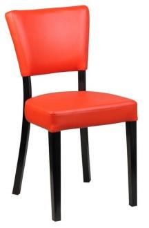 Chaise de restaurant en simili cuir - Devis sur Techni-Contact.com - 1