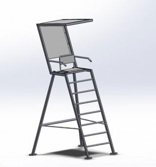 Chaise de surveillance plage - Devis sur Techni-Contact.com - 2