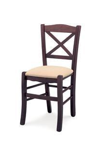 Chaise design en bois café - Devis sur Techni-Contact.com - 1