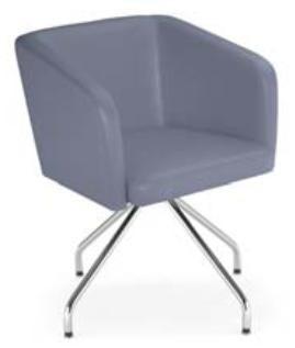 Chaise design structure alu 4 Pieds - Devis sur Techni-Contact.com - 1