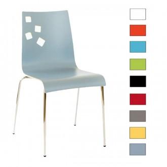 Chaise empilable en bois - Devis sur Techni-Contact.com - 1