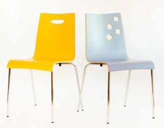 Chaise empilable en bois - Devis sur Techni-Contact.com - 2
