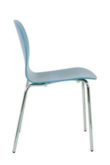 Chaise empilable en frene teinte - Devis sur Techni-Contact.com - 6
