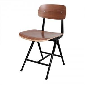 Chaise en acier et bois - Devis sur Techni-Contact.com - 1