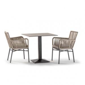 Chaise en aluminium empilable - Devis sur Techni-Contact.com - 3