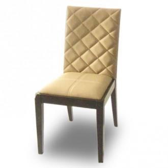 Chaise en bois exotique rembourrée - Devis sur Techni-Contact.com - 1