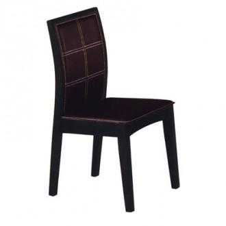 Chaise en bois exotique revêtement simili cuir - Devis sur Techni-Contact.com - 1