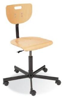 Chaise en bois hêtre teinté - Devis sur Techni-Contact.com - 1