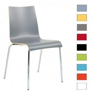 Chaise en bois stratifie empilable - Devis sur Techni-Contact.com - 1