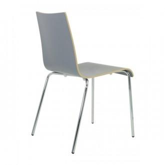 Chaise en bois stratifie empilable - Devis sur Techni-Contact.com - 3