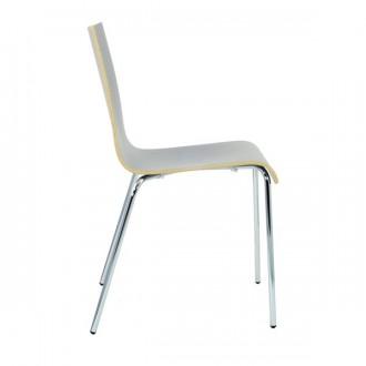 Chaise en bois stratifie empilable - Devis sur Techni-Contact.com - 4