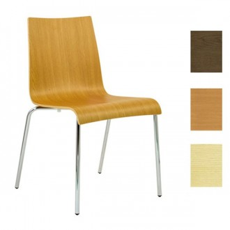 Chaise en bois stratifie HPL empilable - Devis sur Techni-Contact.com - 1