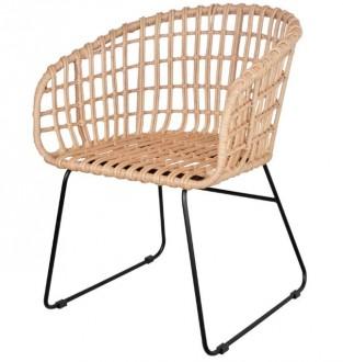 Chaise en rotin artificiel - Devis sur Techni-Contact.com - 1
