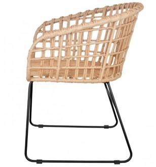 Chaise en rotin artificiel - Devis sur Techni-Contact.com - 3