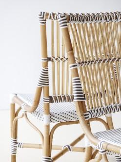 Chaise en rotin naturel et fibre - Devis sur Techni-Contact.com - 2