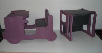 Chaise enfant bois multifonction - Devis sur Techni-Contact.com - 7