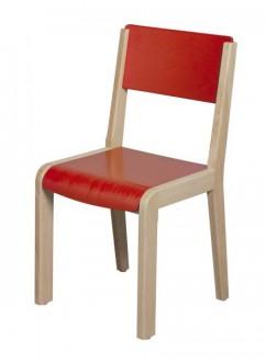 Chaise enfants en bois laquée - Devis sur Techni-Contact.com - 1
