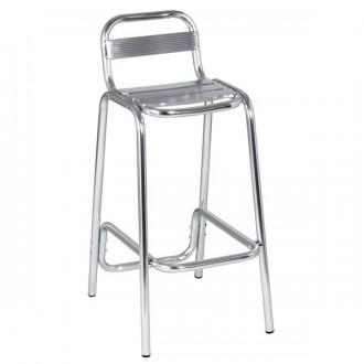 Chaise haute aluminium - Devis sur Techni-Contact.com - 1