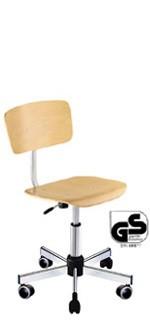 Chaise haute d'atelier bois - Devis sur Techni-Contact.com - 1