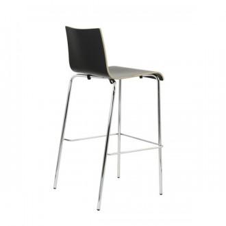 Chaise haute de bar en bois - Devis sur Techni-Contact.com - 2